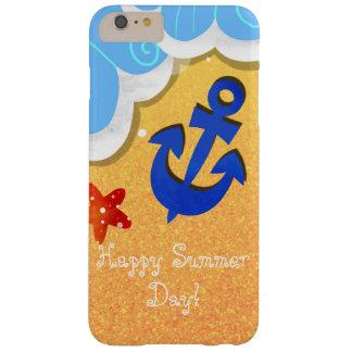 Funda Barely There iPhone 6 Plus Caja de la playa del verano