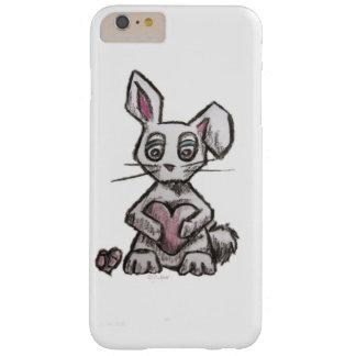 Funda Barely There iPhone 6 Plus Caja del conejito del amor