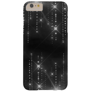 Funda Barely There iPhone 6 Plus Caja del confeti de la chispa