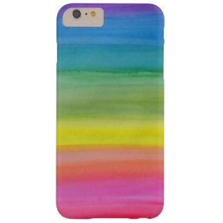Funda Barely There iPhone 6 Plus Caja del teléfono de la impresión de la acuarela