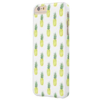 Funda Barely There iPhone 6 Plus Caja del teléfono de la piña de la acuarela