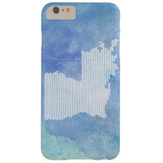 Funda Barely There iPhone 6 Plus Caja del teléfono de Luisiana - corazones