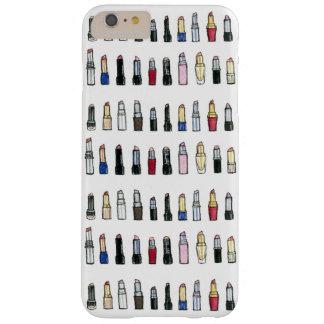 Funda Barely There iPhone 6 Plus Caja del teléfono del amante del lápiz labial
