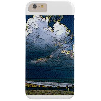 Funda Barely There iPhone 6 Plus Caja del teléfono del cielo nublado