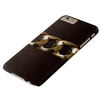 Funda Barely There iPhone 6 Plus Caja más ceñida oro elegante de IPhone 6