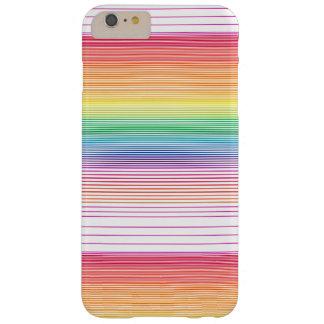 Funda Barely There iPhone 6 Plus caja multicolora enrrollada del teléfono de la
