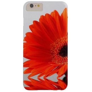 Funda Barely There iPhone 6 Plus Caja roja del teléfono de las flores