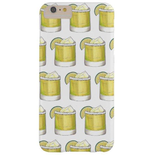 Funda Barely There iPhone 6 Plus Cal de la sal de la bebida mezclada de la barra