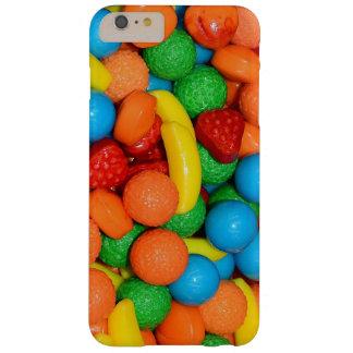 Funda Barely There iPhone 6 Plus Caramelo del plátano, de la fresa y de la cal