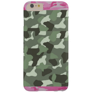 Funda Barely There iPhone 6 Plus caso 6 y 6s del iphone del camo