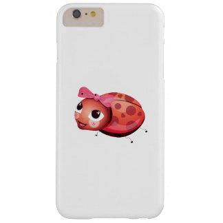 "Funda Barely There iPhone 6 Plus Caso de Iphone de la mariquita del ""pequeño del"