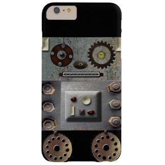 Funda Barely There iPhone 6 Plus Caso de Iphone del robot de Sci Fi