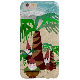 Funda Barely There iPhone 6 Plus Caso del iPhone 6/6S de los gnomos de la playa