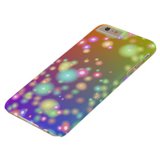 Funda Barely There iPhone 6 Plus caso del iPhone 6/6S - luciérnagas y luces de