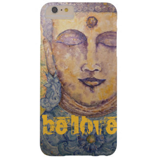 Funda Barely There iPhone 6 Plus Caso del iPhone 7 del arte de la acuarela de Buda
