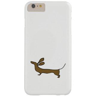 Funda Barely There iPhone 6 Plus Caso del iphone de los oídos del vuelo del ejemplo