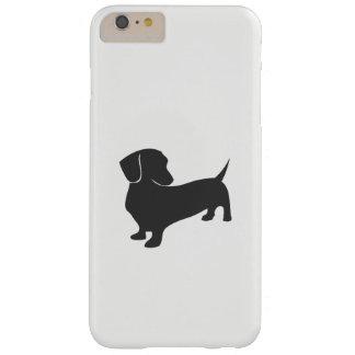 Funda Barely There iPhone 6 Plus Caso del iphone del ejemplo del Dachshund