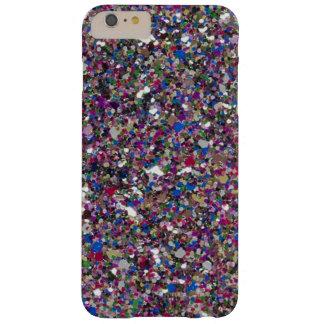 Funda Barely There iPhone 6 Plus Caso más del iPhone 6 femeninos de las chispas del