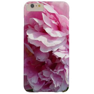 Funda Barely There iPhone 6 Plus Caso más del iPhone 6 rosados del Peony