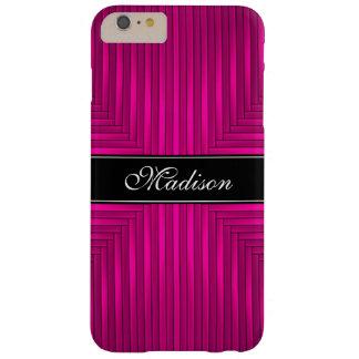 Funda Barely There iPhone 6 Plus Caso más del iPhone 6 rosados y negros