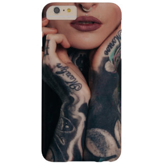Funda Barely There iPhone 6 Plus Caso tatuado de la reina de belleza iPhone6