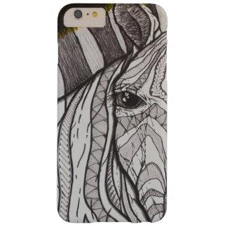Funda Barely There iPhone 6 Plus Cebra polivinílica