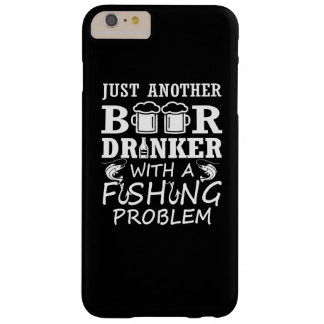 Funda Barely There iPhone 6 Plus Cerveza y pesca