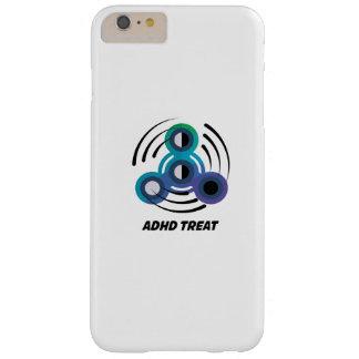 Funda Barely There iPhone 6 Plus Conciencia del hilandero ADHD de la mano del
