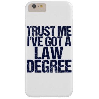 Funda Barely There iPhone 6 Plus Confíeme en humor del abogado