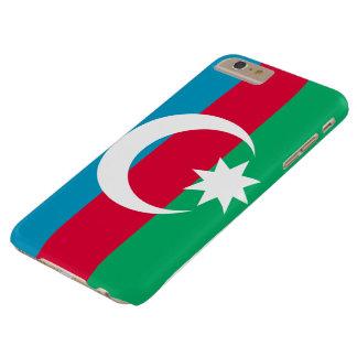 Funda Barely There iPhone 6 Plus Cubierta azerbaiyana del teléfono de la bandera