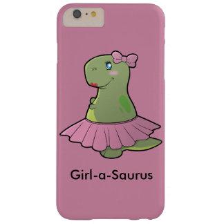 Funda Barely There iPhone 6 Plus Cubierta del teléfono de T-Rex del dinosaurio del