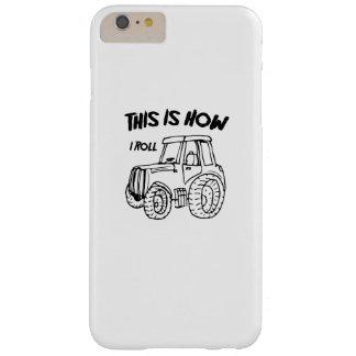 Funda Barely There iPhone 6 Plus Cultivando el tractor del granjero éste es cómo