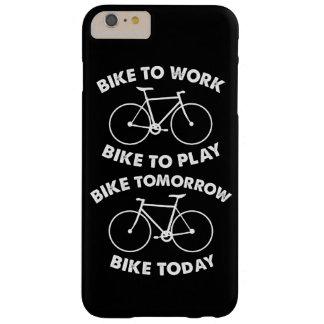 Funda Barely There iPhone 6 Plus De la bici ciclo fresco para siempre -