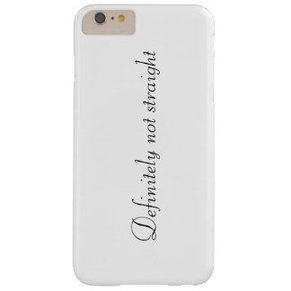 """Funda Barely There iPhone 6 Plus """"Definitivamente no derecho"""" caja del teléfono"""