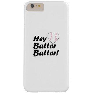 Funda Barely There iPhone 6 Plus Del béisbol del regalo talud del talud ey