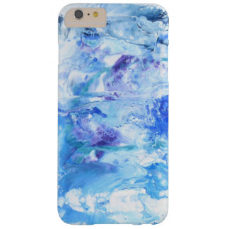 Funda Barely There iPhone 6 Plus Detalle abstracto azul