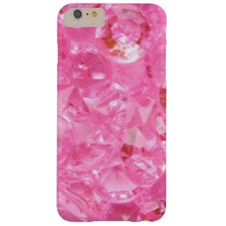 Funda Barely There iPhone 6 Plus Diamantes rosados