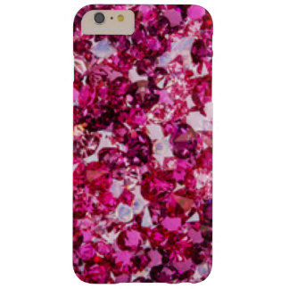 Funda Barely There iPhone 6 Plus Diamantes rosados del multicolor