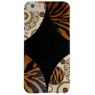 Funda Barely There iPhone 6 Plus Diseño del modelo de la impresión del tigre de