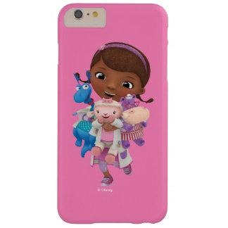 Funda Barely There iPhone 6 Plus Doc. McStuffins el | que comparte el cuidado