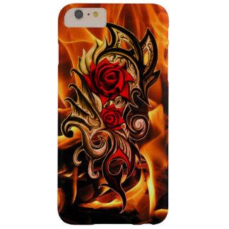 Funda Barely There iPhone 6 Plus dragón subió de amor