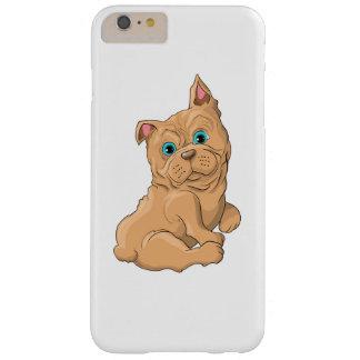 Funda Barely There iPhone 6 Plus Ejemplo de un dogo francés del perro lindo