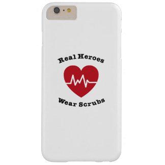 Funda Barely There iPhone 6 Plus El desgaste real de los héroes friega el regalo