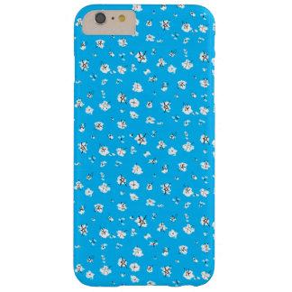Funda Barely There iPhone 6 Plus El garabato azul protagoniza la caja del teléfono