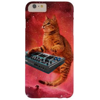 Funda Barely There iPhone 6 Plus el gato suena - gato - los gatos divertidos -