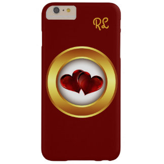 Funda Barely There iPhone 6 Plus el iphone 6 corazones del amor del caso