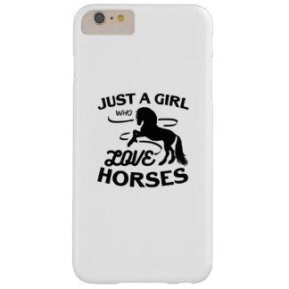 Funda Barely There iPhone 6 Plus El montar de los regalos de los amantes del