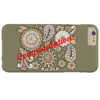 Funda Barely There iPhone 6 Plus Enhorabuena