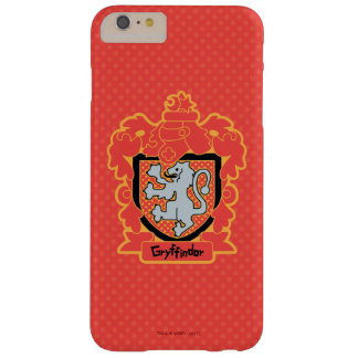 Funda Barely There iPhone 6 Plus Escudo de Gryffindor del dibujo animado