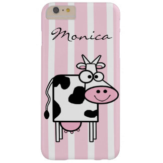 Funda Barely There iPhone 6 Plus Estampado de animales femenino sonriente de la